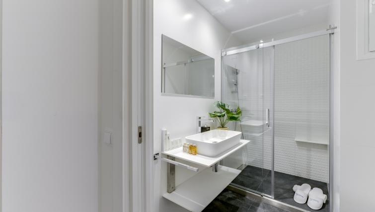 Sink at the San Bernardo Apartment - Citybase Apartments