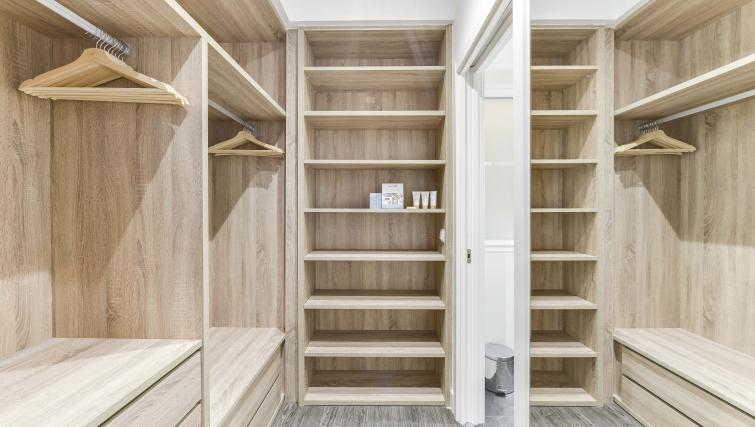Closet at the San Bernardo Apartment - Citybase Apartments