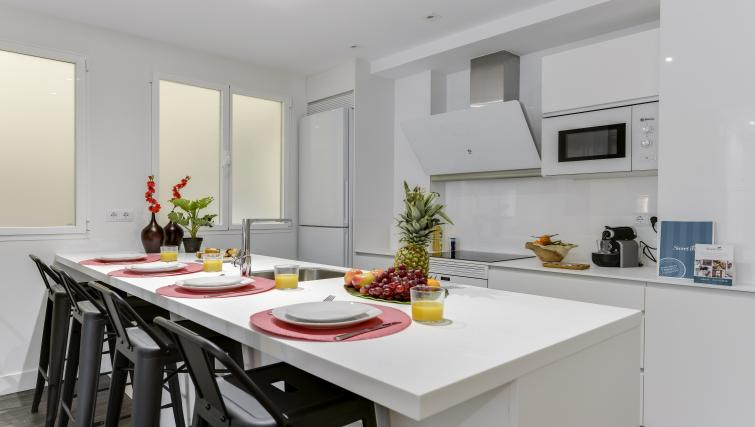 Kitchen at the San Bernardo Apartment - Citybase Apartments