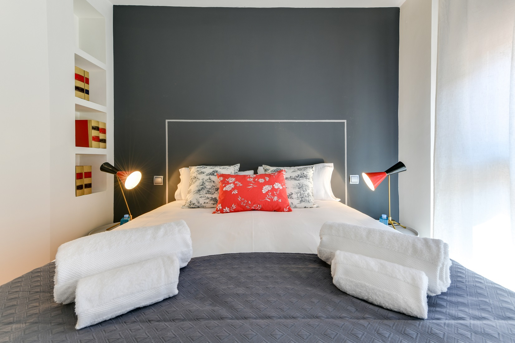 Bedroom at the Don Pedro Apartments - Citybase Apartments