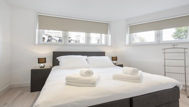 Welcoming bedroom at the Windmill Apartments - Citybase Apartments