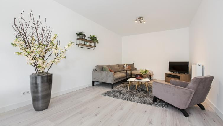 Cosy living area at the Windmill Apartments - Citybase Apartments