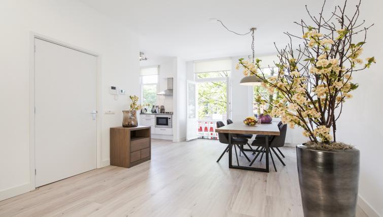 Sleek wooden flooring at the Windmill Apartments - Citybase Apartments