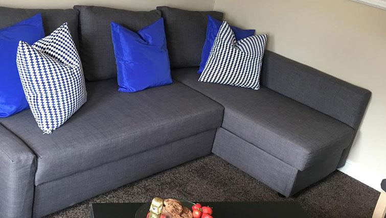 Living area at West Gate Apartment - Citybase Apartments