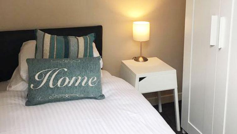 Bedroom two at West Gate Apartment - Citybase Apartments