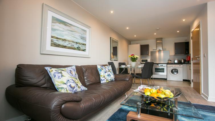 Sofa at the Grand Canal Apartments - Citybase Apartments