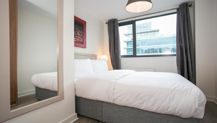 Smart bed at the Grand Canal Apartments - Citybase Apartments