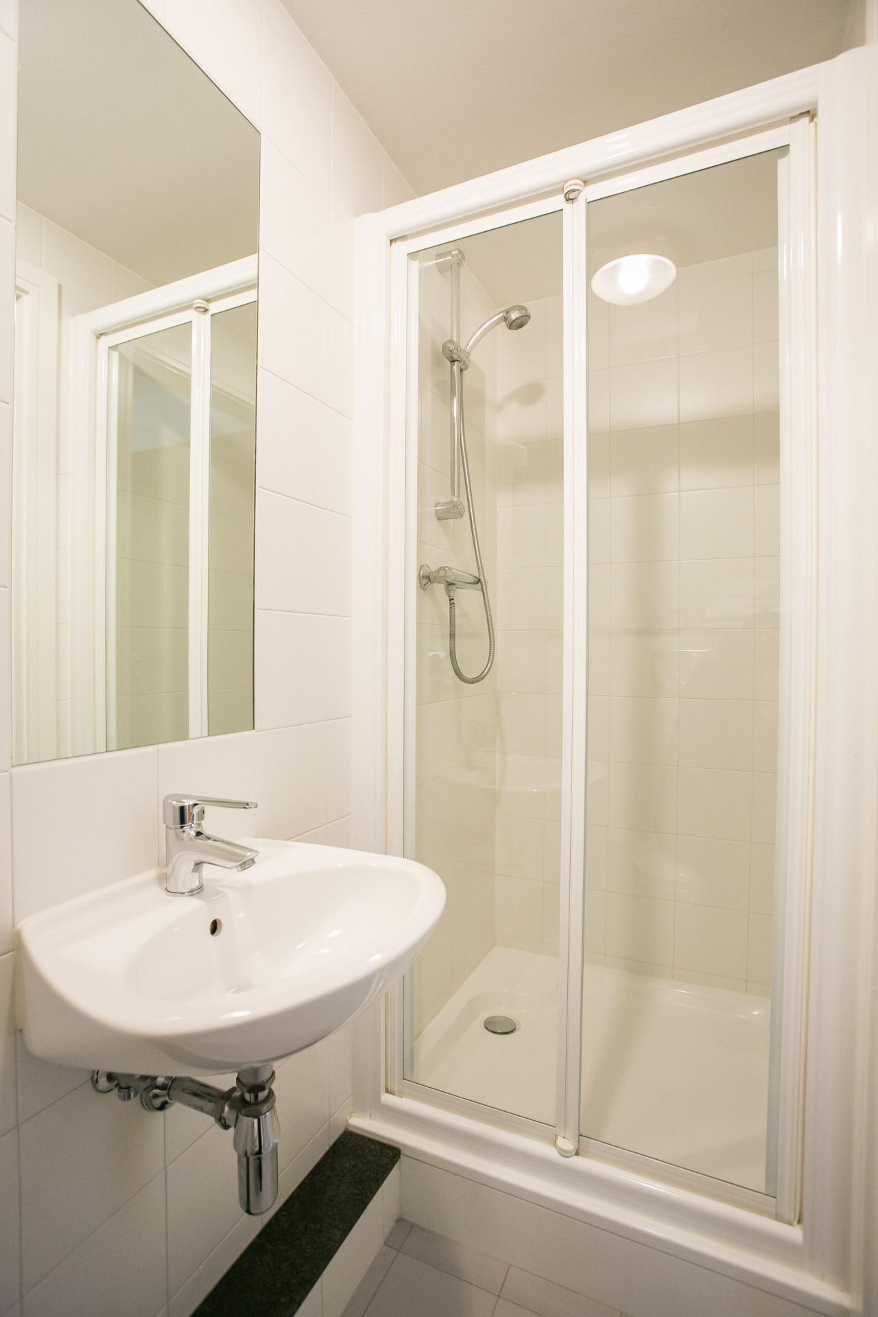 Shower at the Grand Canal Apartments - Citybase Apartments