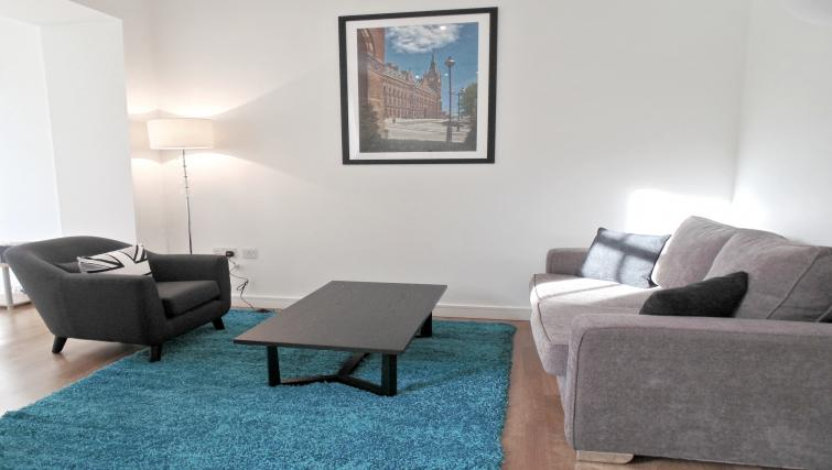 Spacious living areas at Still Life King's Cross Apartment - Citybase Apartments
