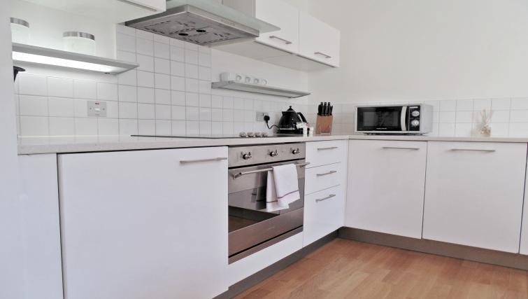 Kitchen at Still Life King's Cross Apartment - Citybase Apartments