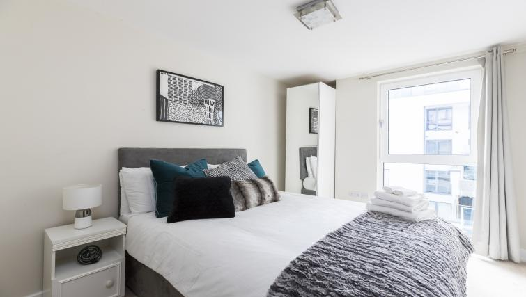 Bedroom at the Hammersmith Haven Apartment - Citybase Apartments