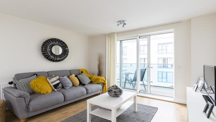 Lounge at the Hammersmith Haven Apartment - Citybase Apartments