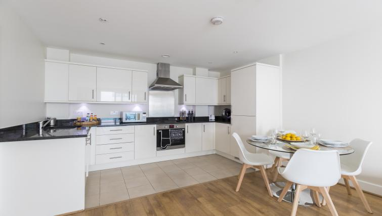 Kitchen at the Hammersmith Haven Apartment - Citybase Apartments