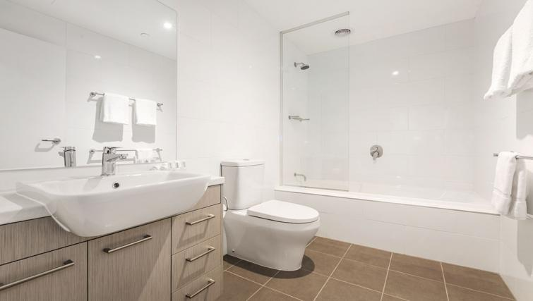 Bathroom at Quest Albury on Townsend Apartments - Citybase Apartments