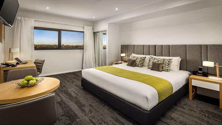 Bedroom at the Quest Bella Vista Apartments - Citybase Apartments