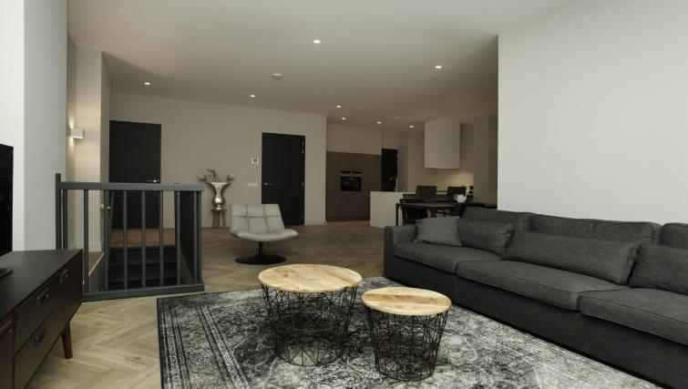 Living room at the Stayci Westeinde Apartments - Citybase Apartments