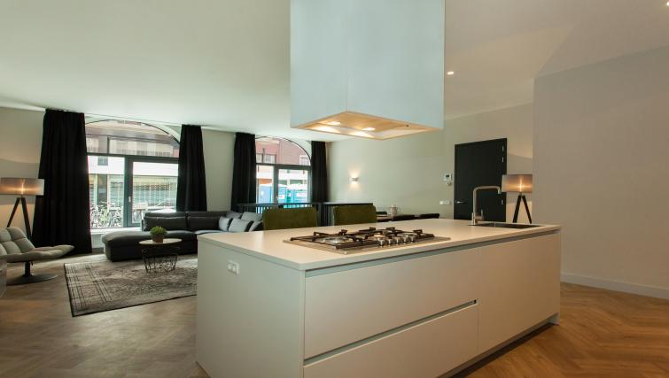 Kitchen at the Stayci Westeinde Apartments - Citybase Apartments