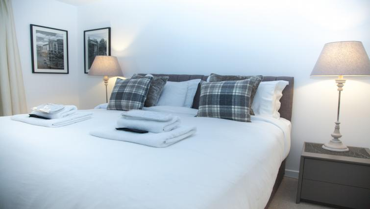 Bedroom at the The Marque Grande Apartment - Citybase Apartments