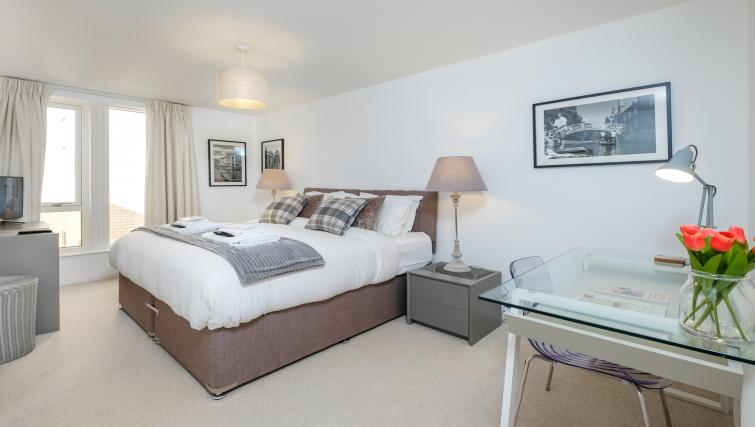 Bed at the The Marque Grande Apartment - Citybase Apartments