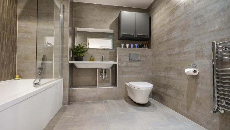Bathroom at the The Marque Grande Apartment - Citybase Apartments