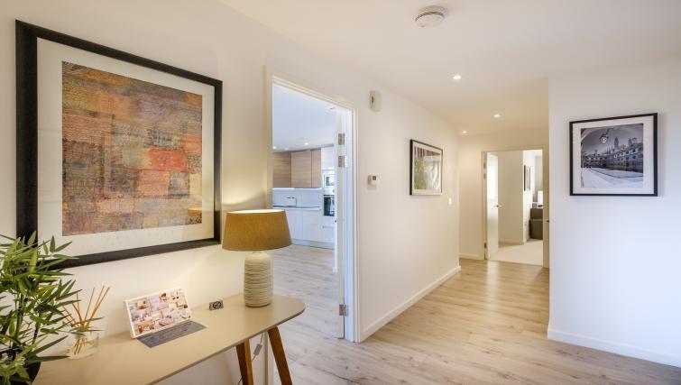 Corridor at the The Marque Grande Apartment - Citybase Apartments