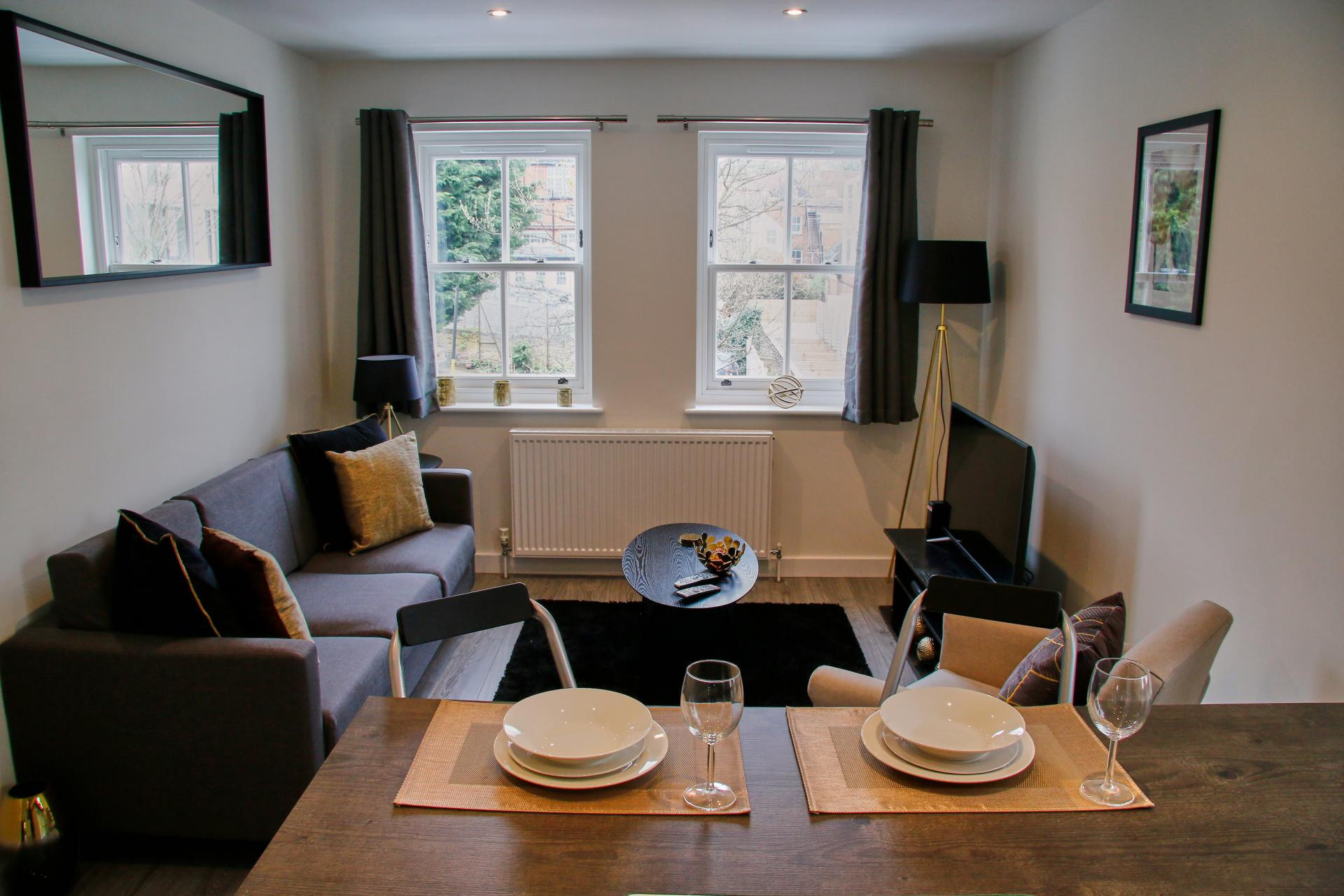 Open-plan at Derbyshire House, St Albans - Citybase Apartments