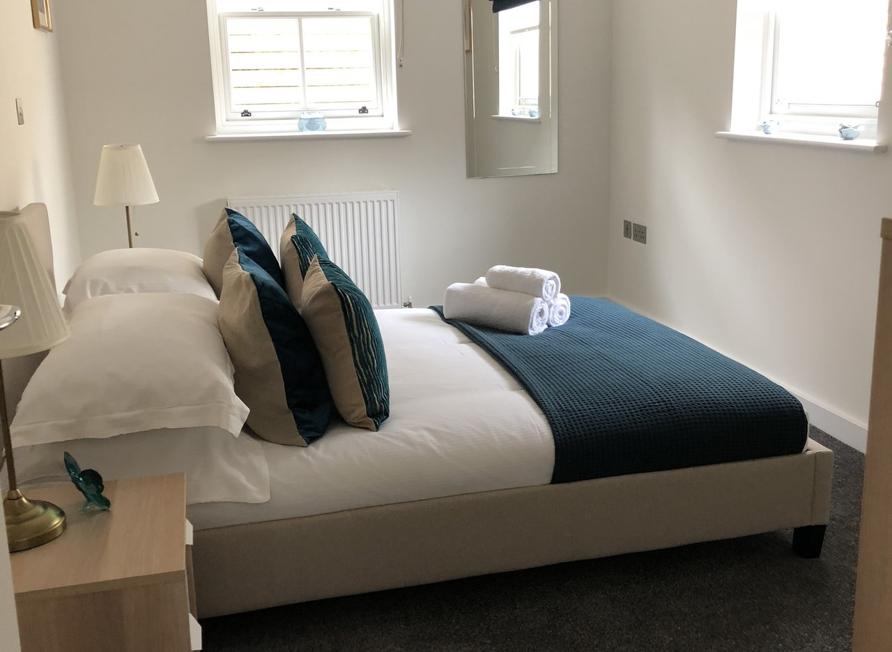 Bedroom at Derbyshire House, St Albans - Citybase Apartments
