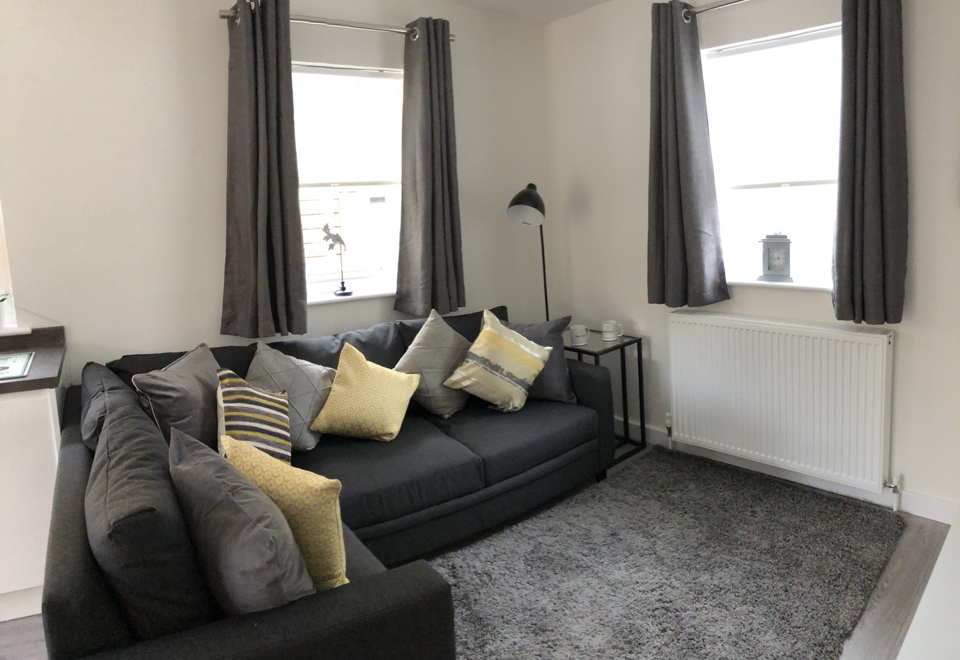 Sofa at Derbyshire House, St Albans - Citybase Apartments