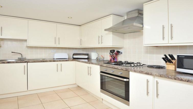 Kitchen at the Trinity Mews Apartment - Citybase Apartments