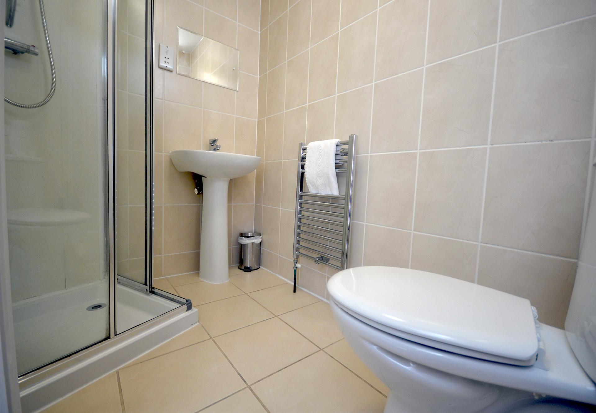 WC at Trinity Mews Apartment, Babbacombe, Torquay - Citybase Apartments