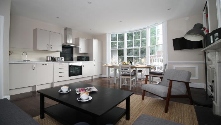 Kitchen at No 18 Apartments - Citybase Apartments