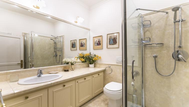 Bathroom at Bonaparte Apartment - Citybase Apartments