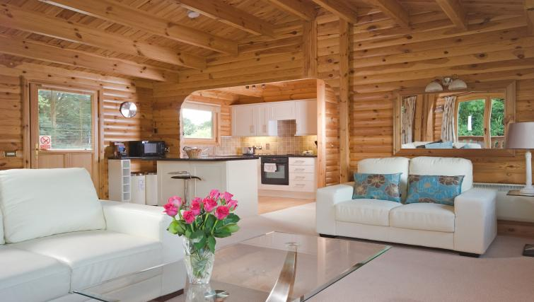 Living room at the South Winchester Lodges - Citybase Apartments