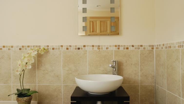Bathroom at the South Winchester Lodges - Citybase Apartments
