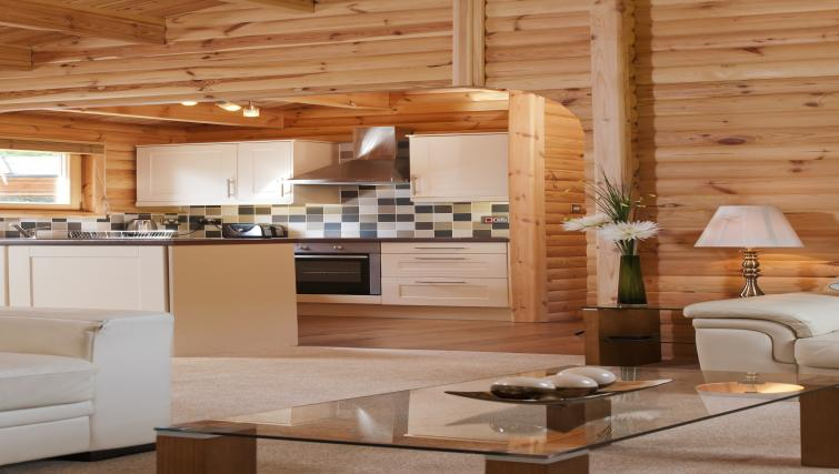 Kitchen at the South Winchester Lodges - Citybase Apartments
