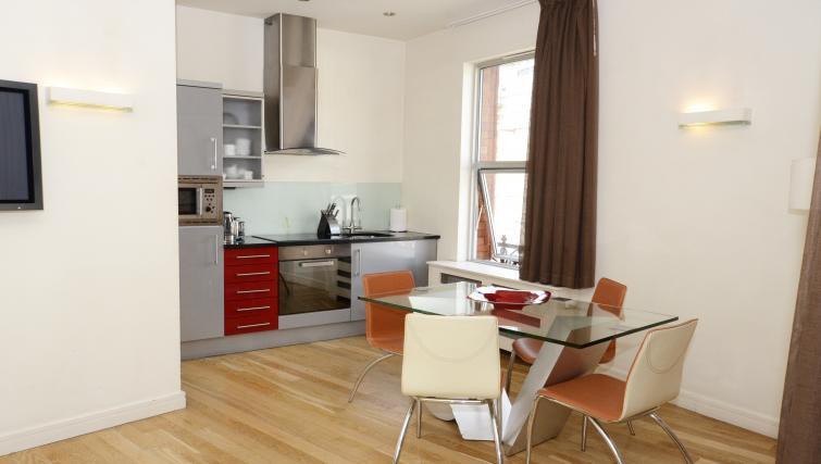 Kitchen at 1 Harrington Gardens - Citybase Apartments