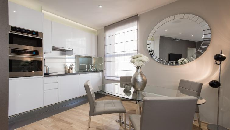 Kitchen/dining area at 1 Harrington Gardens - Citybase Apartments