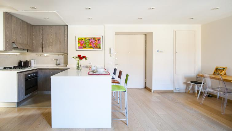 Kitchen at Via Orti Apartment - Citybase Apartments