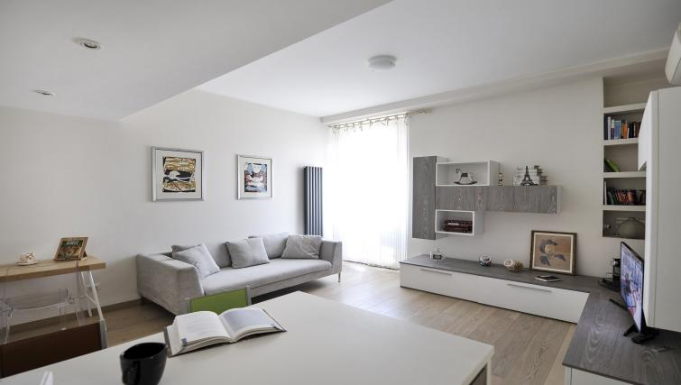 Living room at Via Orti Apartment - Citybase Apartments