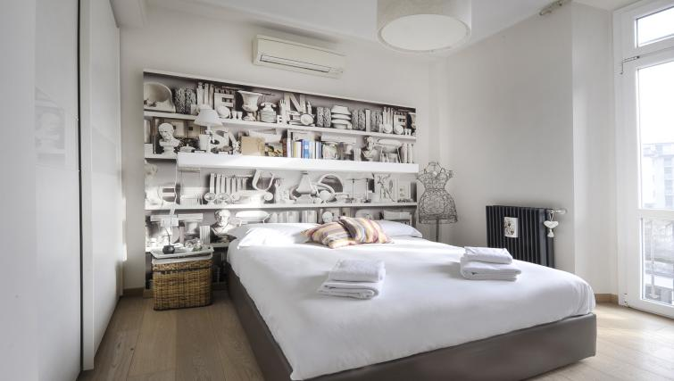 Bedroom at Via Orti Apartment - Citybase Apartments