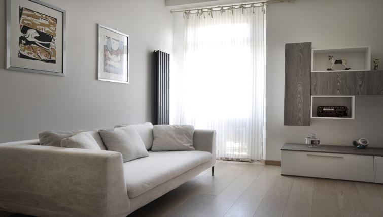 Sofa at Via Orti Apartment - Citybase Apartments