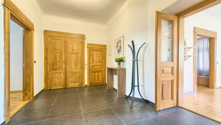 Hallway at Dusni 13 Apartment - Citybase Apartments