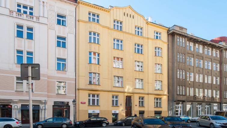 Exterior at Dusni 13 Apartment - Citybase Apartments