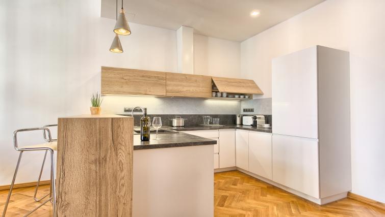 Kitchen at Dusni 13 Apartment - Citybase Apartments