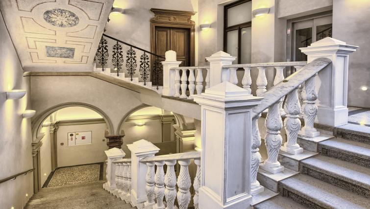 Stairs at Jilska Palace Apartments - Citybase Apartments