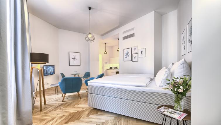 Open-plan layout at Jilska Palace Apartments - Citybase Apartments