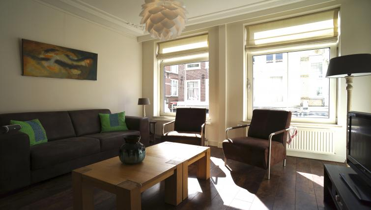 Lounge at Stayci Noordeinde Apartments - Citybase Apartments