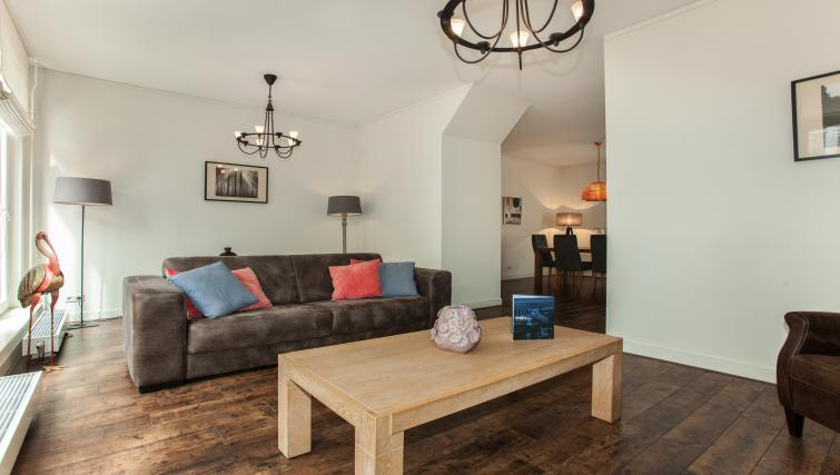 Living area at Stayci Noordeinde Apartments - Citybase Apartments