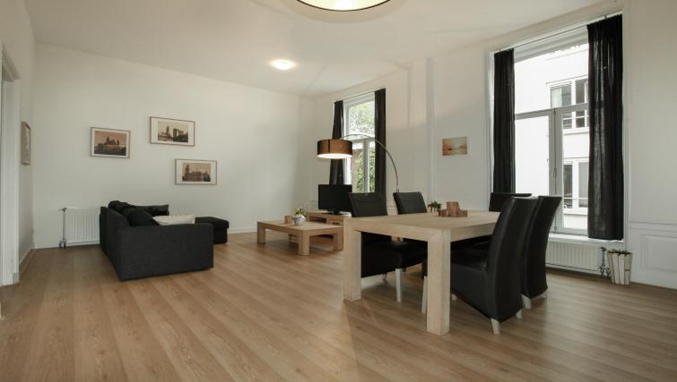 Living area at Stayci Grand Place Apartments - Citybase Apartments