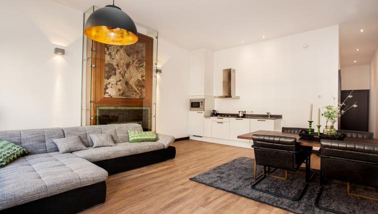 Living room at the Stayci Royal Palace Apartments - Citybase Apartments